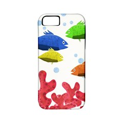 Corals And Fish Apple Iphone 5 Classic Hardshell Case (pc+silicone)