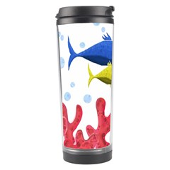 Corals And Fish Travel Tumbler by Valentinaart