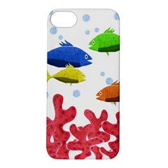 Corals And Fish Apple Iphone 5s/ Se Hardshell Case by Valentinaart