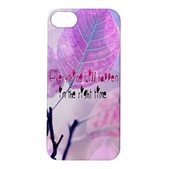 Magic Leaves Apple Iphone 5s/ Se Hardshell Case by Brittlevirginclothing