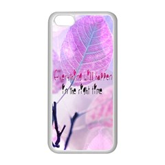 Magic Leaves Apple Iphone 5c Seamless Case (white) by Brittlevirginclothing