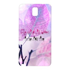 Magic Leaves Samsung Galaxy Note 3 N9005 Hardshell Back Case by Brittlevirginclothing