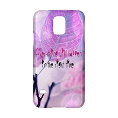 Magic Leaves Samsung Galaxy S5 Hardshell Case  by Brittlevirginclothing
