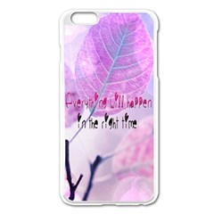 Magic Leaves Apple Iphone 6 Plus/6s Plus Enamel White Case by Brittlevirginclothing