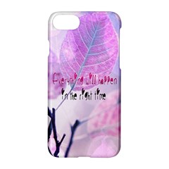 Magic Leaves Apple Iphone 7 Hardshell Case by Brittlevirginclothing