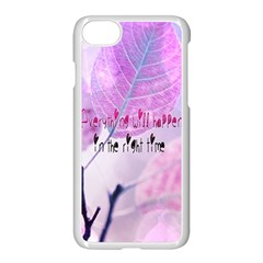 Magic Leaves Apple Iphone 7 Seamless Case (white) by Brittlevirginclothing