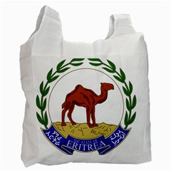 National Emblem Of Eritrea  Recycle Bag (two Side)