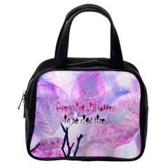 Magic Leaves Classic Handbags (one Side) by Brittlevirginclothing