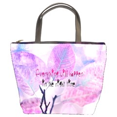 Magic Leaves Bucket Bags by Brittlevirginclothing