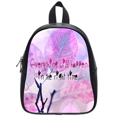 Magic Leaves School Bags (small)  by Brittlevirginclothing