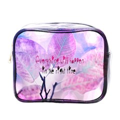Magic Leaves Mini Toiletries Bags by Brittlevirginclothing