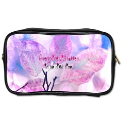 Magic Leaves Toiletries Bags 2 Side by Brittlevirginclothing