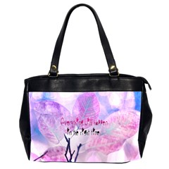 Magic Leaves Office Handbags (2 Sides)  by Brittlevirginclothing