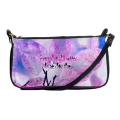 Magic Leaves Shoulder Clutch Bags by Brittlevirginclothing