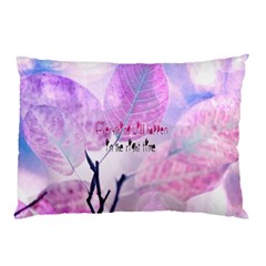 Magic Leaves Pillow Case (two Sides) by Brittlevirginclothing