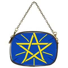 National Emblem Of Ethiopia Chain Purses (two Sides)