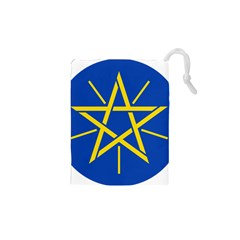 National Emblem Of Ethiopia Drawstring Pouches (xs)  by abbeyz71