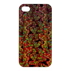 Red Corals Apple Iphone 4/4s Hardshell Case