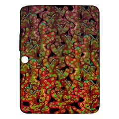 Red Corals Samsung Galaxy Tab 3 (10 1 ) P5200 Hardshell Case  by Valentinaart
