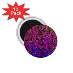 Purple Corals 1 75  Magnets (10 Pack)  by Valentinaart