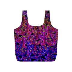 Purple Corals Full Print Recycle Bags (s)  by Valentinaart