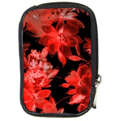 Red Flower  Compact Camera Cases by Brittlevirginclothing