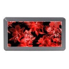 Red Flower  Memory Card Reader (mini) by Brittlevirginclothing