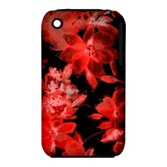 Red Flower  Iphone 3s/3gs by Brittlevirginclothing