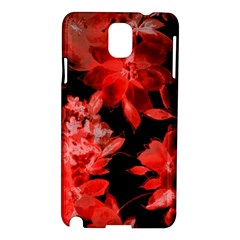 Red Flower  Samsung Galaxy Note 3 N9005 Hardshell Case by Brittlevirginclothing