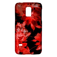 Red Flower  Galaxy S5 Mini by Brittlevirginclothing