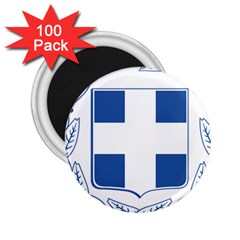 Coat Of Arms Of Greece 2 25  Magnets (100 Pack)