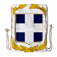 Variant Coat Of Arms Of Greece  Drawstring Bag (large)