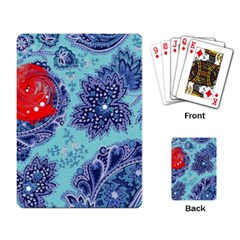 Red Pearled Roses  Playing Card by Brittlevirginclothing