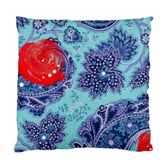 Red Pearled Roses  Standard Cushion Case (one Side)