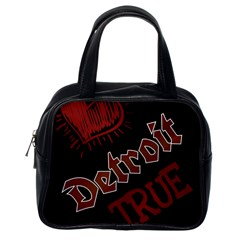 Dcldtv1 Classic Handbags (one Side) by DetroitTrue