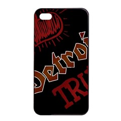 Dcldtv1 Apple Iphone 4/4s Seamless Case (black)