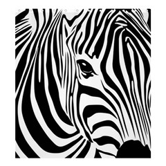 Animal Cute Pattern Art Zebra Shower Curtain 66  X 72  (large)