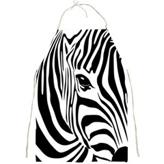 Animal Cute Pattern Art Zebra Full Print Aprons by Amaryn4rt
