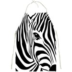 Animal Cute Pattern Art Zebra Full Print Aprons Front
