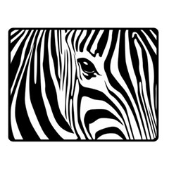Animal Cute Pattern Art Zebra Fleece Blanket (small) by Amaryn4rt