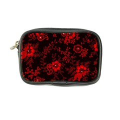 Small Red Roses Coin Purse by Brittlevirginclothing