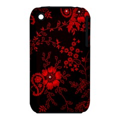 Small Red Roses Iphone 3s/3gs by Brittlevirginclothing