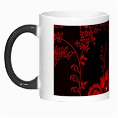 Small Red Roses Morph Mugs by Brittlevirginclothing