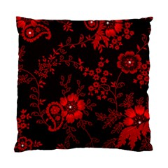 Small Red Roses Standard Cushion Case (one Side) by Brittlevirginclothing