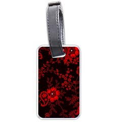 Small Red Roses Luggage Tags (two Sides) by Brittlevirginclothing