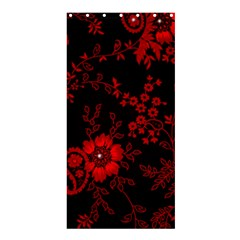 Small Red Roses Shower Curtain 36  X 72  (stall)  by Brittlevirginclothing