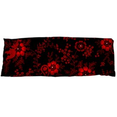 Small Red Roses Body Pillow Case (dakimakura) by Brittlevirginclothing