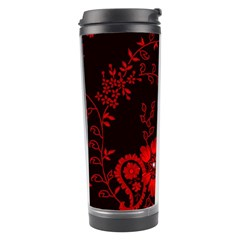 Small Red Roses Travel Tumbler by Brittlevirginclothing