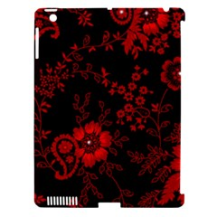Small Red Roses Apple Ipad 3/4 Hardshell Case (compatible With Smart Cover) by Brittlevirginclothing