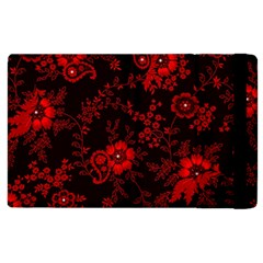 Small Red Roses Apple Ipad 2 Flip Case by Brittlevirginclothing